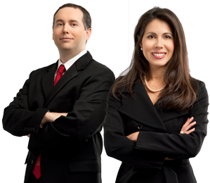Attorneys Jackie Patterson and Nathan Farmer